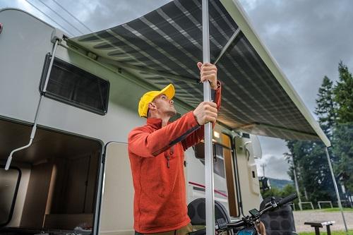 Store banne à La Réunion